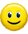 Folie ballon glimlach smiley 45 cm