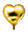 Folie helium ballon gouden hart 49 cm