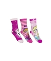 Frozen meisjes sokken 3 pak roze