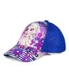 Frozen pet cap donkerblauw voor kinderen