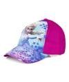 Frozen pet cap fuchsia roze licht blauw voor kinderen