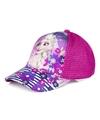 Frozen pet cap fuchsia roze voor kinderen