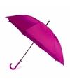 Fuchsia automatische paraplu 107 cm