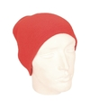 Gekleurde basic muts rood voor dames