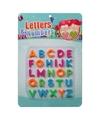 Gekleurde magnetische letters 26 stuks