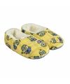 Gele minions pantoffels met pluche voor meisjes