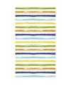 Gestreept tafellaken tafelkleed 120 x 180 cm gekleurd