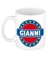 Gianni naam koffie mok beker 300 ml