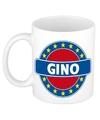 Gino naam koffie mok beker 300 ml