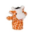Giraffe handpop pluche 23 cm