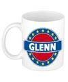 Glenn naam koffie mok beker 300 ml