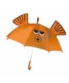 Goudvis paraplu voor jongens 45 cm