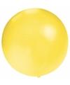 Grote ballon 60 cm geel
