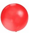 Grote ballon 60 cm rood
