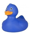 Grote blauwe badeend 25 cm