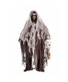 Halloween bruine verkleed cape met capuchon