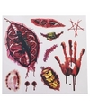 Halloween nep tattoos bloed en wonden