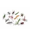 Halloween plastic insecten 12 stuks