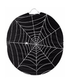 Halloween spinnenweb lampion 22 cm