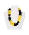 Hawaii slinger geel zwart