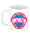 Hedwig naam koffie mok beker 300 ml