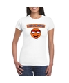 Holland coole smiley t shirt wit dames