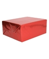 Holografisch inpakpapier rood metallic 70 x 150 cm