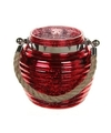 Home deco windlicht lantaarn rood 13 cm