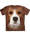 Honden t shirt beagle voor volwassenen