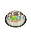 Honden voederbak of drinkbak rvs met relief 500 ml