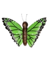 Houten magneet groene vlinder