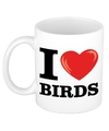 I love birds vogel beker 300 ml