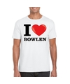I love bowlen t shirt wit heren