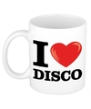 I love disco beker mok 300 ml