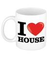 I love house beker mok 300 ml