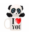 I love you mok met panda