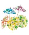 Ijs parasols hawaii 48 stuks