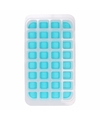 Ijsblokjes vorm 32 blokjes blauw