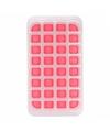 Ijsblokjes vorm 32 blokjes rood