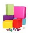 Inpakpapier voor multi kleuren s pakket