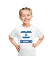 Israel hart vlag t shirt wit jongens en meisjes