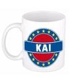 Kai naam koffie mok beker 300 ml