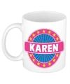 Karen naam koffie mok beker 300 ml