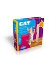 Katten kitten krabpaal beige 35 cm