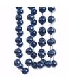 Kerst blauwe xxl kralenslinger elegant christmas 270 cm