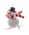 Kerstboom decoratie sneeuwpop hanger type 1