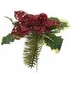 Kerststukje kersthulst steker