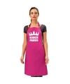 Keuken prinses keukenschort roze dames