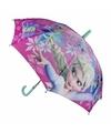 Kinder paraplu frozen elsa roze 45 cm