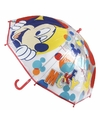 Kinder paraplu mickey mouse rood